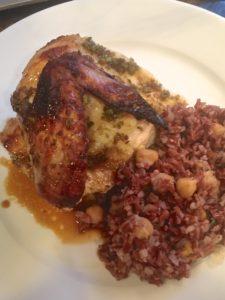 Honey Chicken Roman Style (Poulet Apicius)
