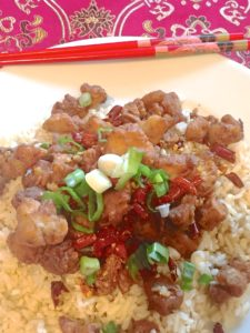 Sichuan Red Chili Chicken