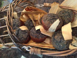 Blue Corn Muffins