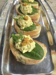 Egg Salad Baguette