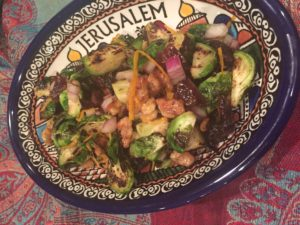 Brussel Sprout and Date Salad