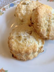 Orange and Golden Raisin Scones