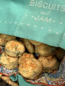 Parmesan Parsley Biscuits