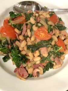 Beans, Greens and Ham
