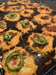 Bacon Jalapeno Cheddar Frico