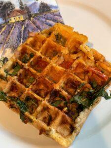Ham and Egg Waffle