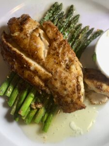 Blackened Red Fish with Lots of Butter